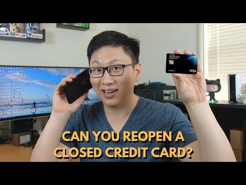 Can You Reopen Closed Cards?