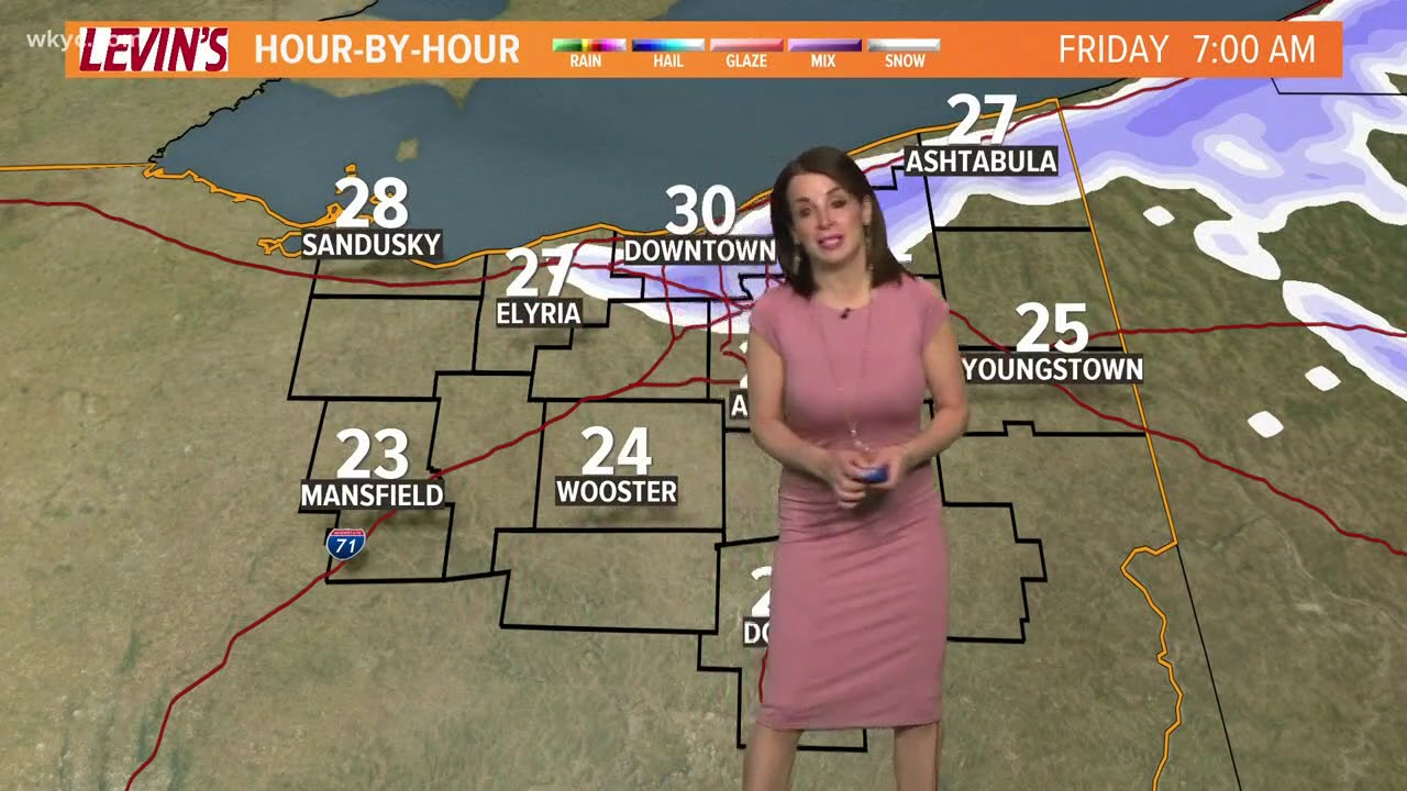 morning weather forecast for northeast ohio  march 9  2018