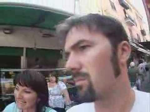 Shane O eats veel spleen in Sicily (ROYAL CARIBBEAN)
