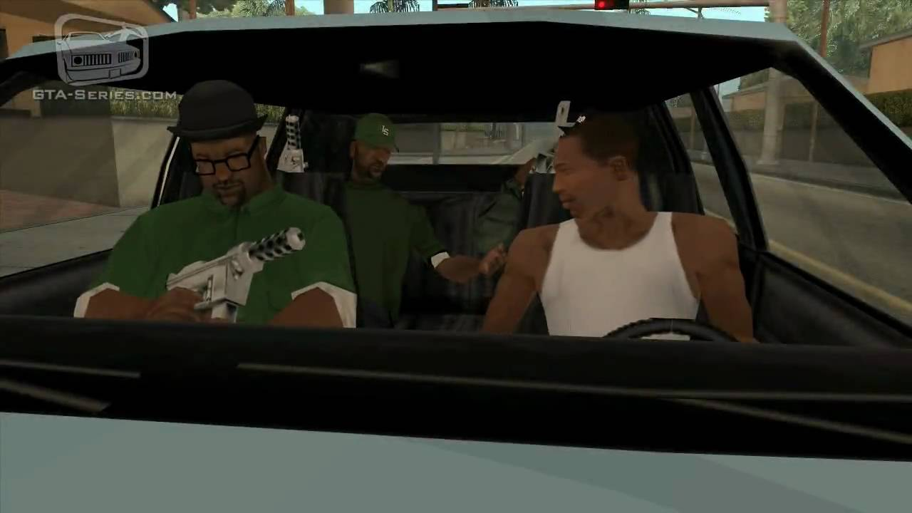 gta san andreas - walkthrough - mission  7 - drive-by  hd