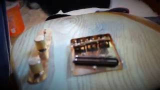 How to build an electric relic guitar part 4