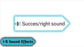 success/right sound - Copyright Free Sound Effects