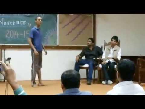 Drama Freshers Mechanical & Industrial Department IIT Roorkee 2014