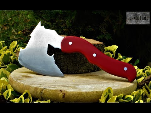How to make an axe at home with resin handle
