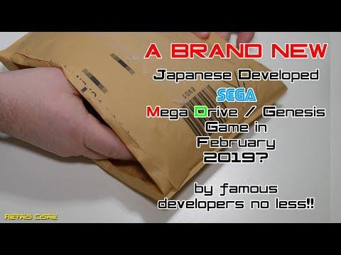 Brand new Japanese Mega Drive Game - 16 Bit Rhythm Land