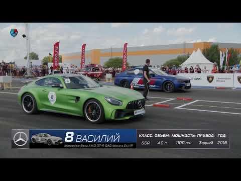 1100hp Mercedes AMG GT R GAD Motors. 300 Km/h за полмили. Unlim500 Highlights.