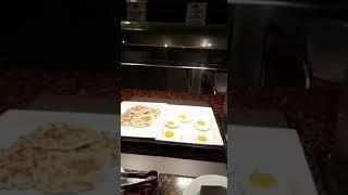 Завтрак в отеле Volga  Испания Калелья