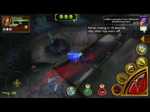 ARCANE LEGENDS GAMEPLAY PART 10 - Journey Into The Shadow Plains Through The City Of Kelys