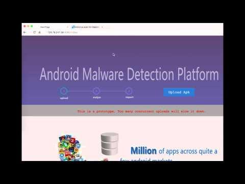 Android malware detection platform - MassVet