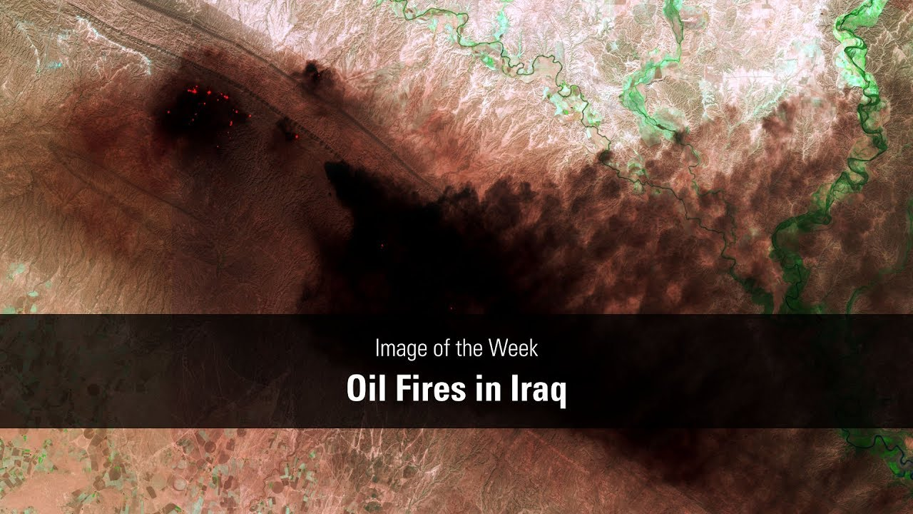 Oil Fires in Iraq