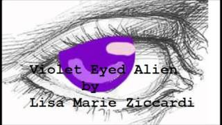 Book trailer for my book 'Violet Eyed Alien'