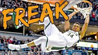 """Epic NBA """"FREAK"""" Dunks"""