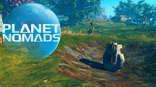 PLANET NOMADS [001] [Fremde Planeten erforschen] GAMEPLAY Deutsch German thumbnail