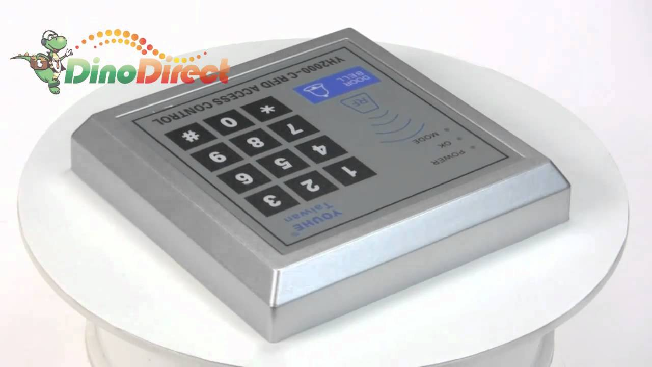 maxresdefault door proximity entry lock keypad access control system yh2000 d yh2000-c wiring diagram at alyssarenee.co
