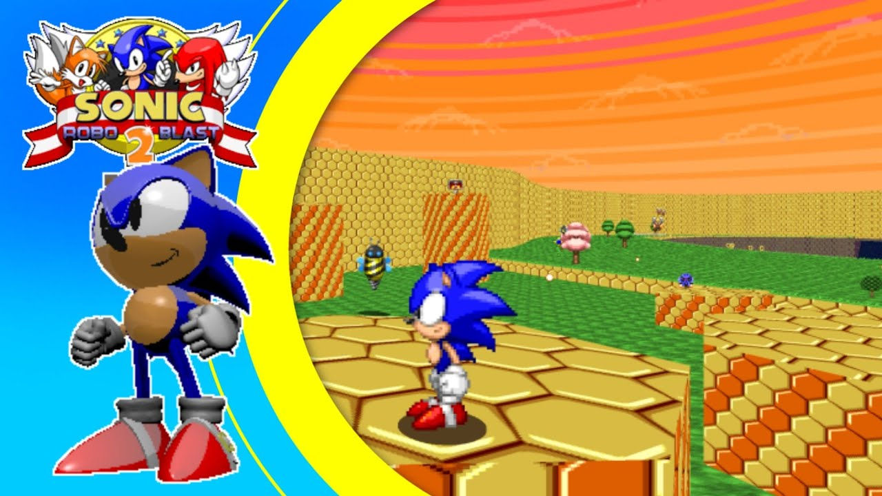 Sonic Robo Blast 2 (Android) - The Havocked Hives Zone (Ft