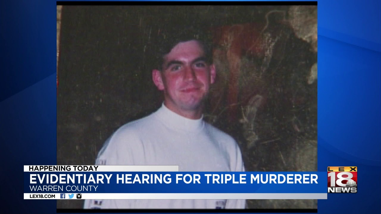 Evidentiary Hearing Underway For Convicted Triple Murderer