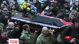 У Києві сьогодні прощалися з бійцем «Правого Сектору» Андрієм Прищепюком