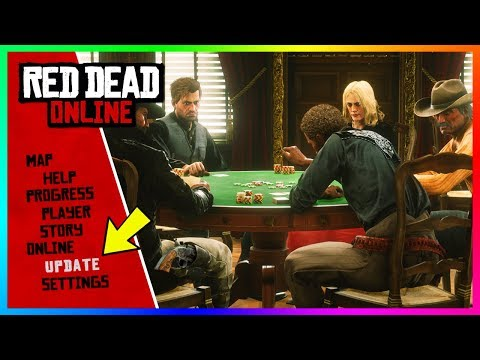 Red Dead Online - NEW UPDATE! Poker, FREE Gold Bars, NEW Weapons & MORE! (RDR2 Online DLC Update)