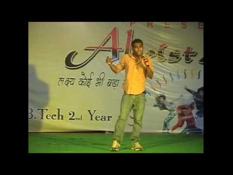 wo lamhe wo batain by maddy at acet Aligarh fresher's party