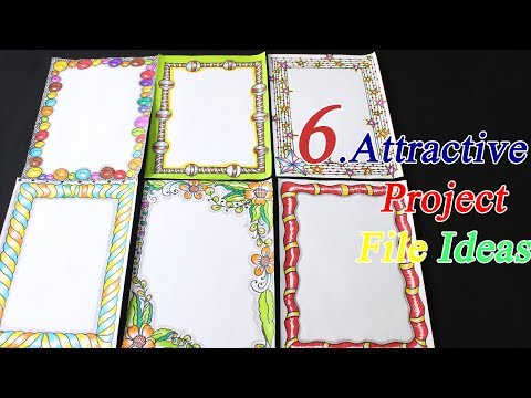 6 Attractive Project File Ideas Cover