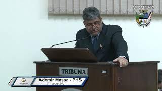 32ª Sessão Ordinária - Vereador Ademir Massa
