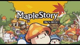 มาแล้ว MapleStory Nexon Alpha Test เปิดวันแรก เย้...