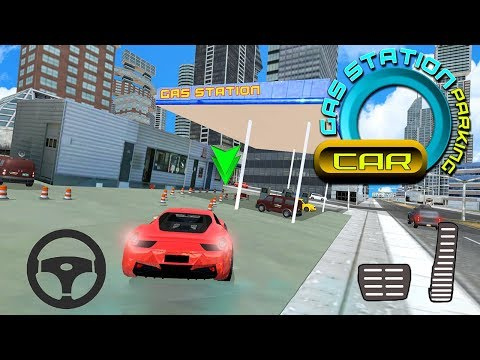 Gas Station Car Parking City Service (by 4wheelgames) Android Gameplay [HD]