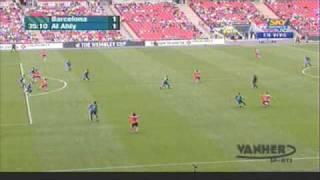 FC Barcelona vs Al Ahly 4-1 Wembley Cup [26/07/09] Highlights