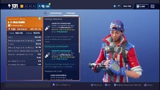 *A.C. OLD GLORY* OSITO EVERY 5 SECONDS... INABILITY MATRIX ? FORTNITE SAVE THE WORLD