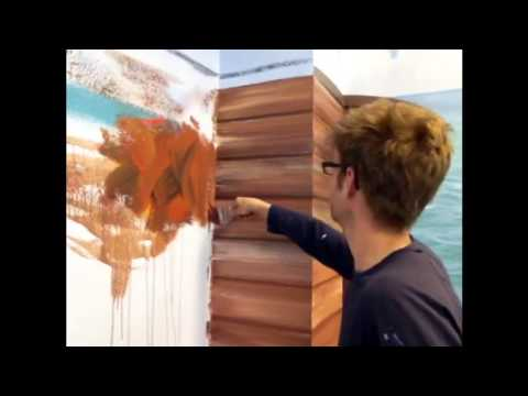 Faux Wood Painting Youtube