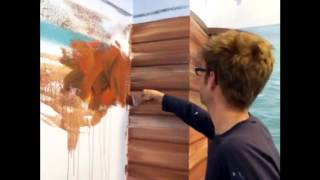 Easiest way to paint wood effect - Mural Joe