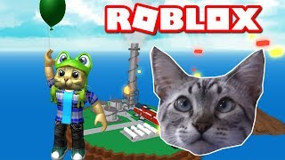 CHESTER THE CAT PLAYING NATURAL DISASTER IN ROBLOX