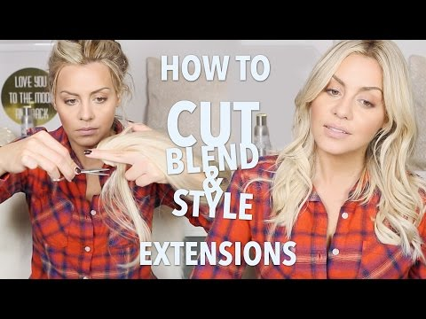 How to Cut, Blend and Style Hair Extensions thumbnail