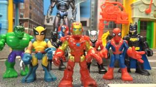 Marvel Avengers Imaginext The Power of Doom part 3 Stop Motion