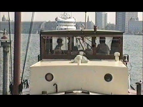 Dutch Barge - Luxemotor mv Lucia - Hoorn to Amsterdam