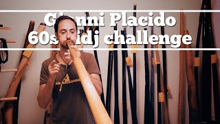 Musical didjeridoo 5:  60 seconds didjeridoo challenge - Gianni Placido