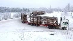 Tulevaisuuden puutavara-auto testauksessa – UPM Metsä