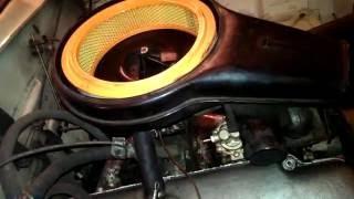 Москвич ИЖ-412: воздушный фильтр. Готовим машину к выезду_1