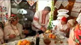 Белорусская кухня. Бабина каша, Яичница, Кисель