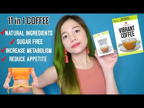 VIBRANT COFFEE REVIEW (11 IN 1 COFFEE) || 7 DAYS CHALLENGE!