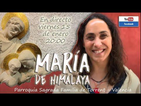 MARÍA DE HIMALAYA Testimonio de Conversión (En directo)