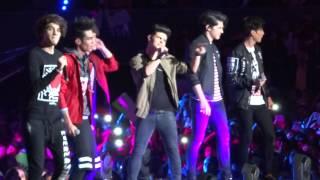 CD9 ft. Abraham Mateo - Señorita & Para siempre - Arena Ciudad de México (15 febrero 2015)