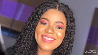 easy daily make up tutorials - Regina daniels