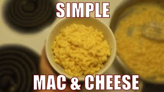 Cooking Quick and Easy Homemade Mac and Cheese at 3am