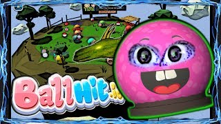I have the biggest ball! BallHit.io on Two Player Games