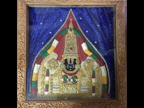 DIY Lord Venkateswara with M-Seal (Epoxy Compound)