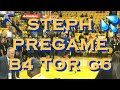 Steph Curry dunking 🔨 and 💦 splashing pregame b4 Game 6 NBA Finals