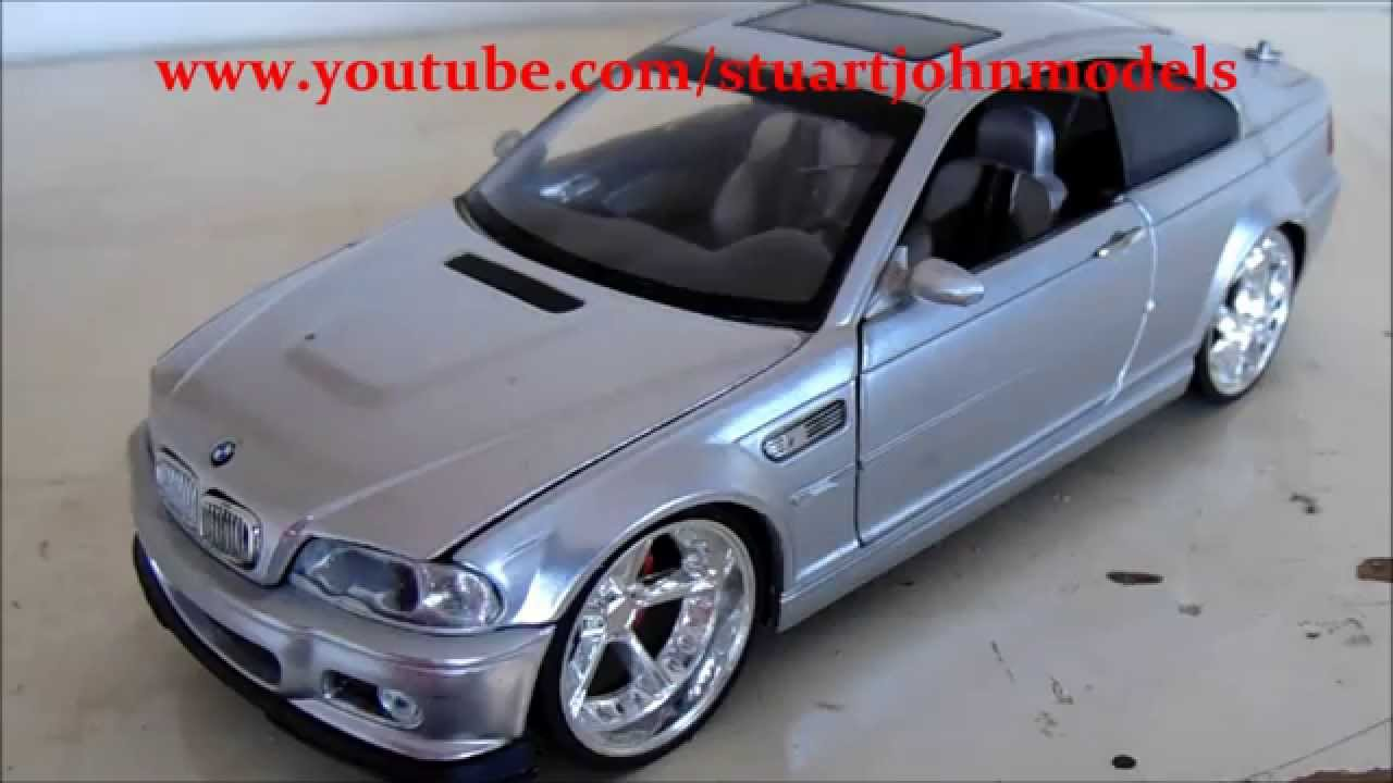 the 1/24 model car club series (part 7) (bmw m3) (jada toys) - youtube