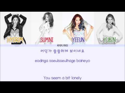 Wonder Girls  John Doe EngRomHan Picture + Color Coded HD