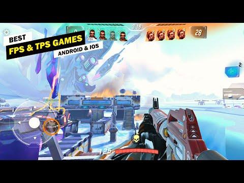 Top 10 FPS & TPS Games For Mobile! [Offline/Online]
